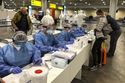 Ruskí lekárski odborníci kontrolujú