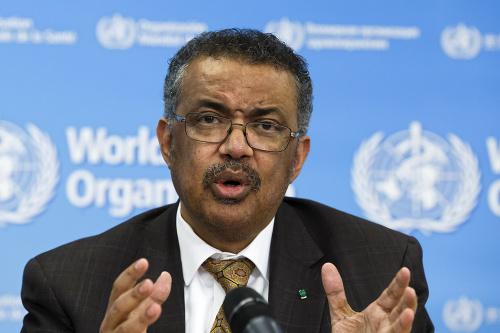 Šéf Svetovej zdravotníckej organizácie