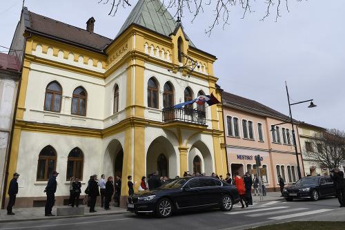 Mestský úrad Sabinov.