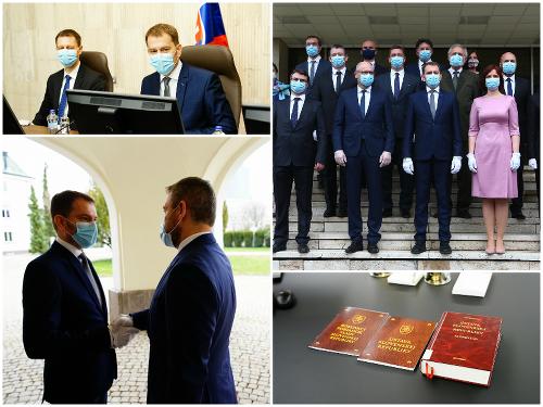 Vláda Igora Matoviča