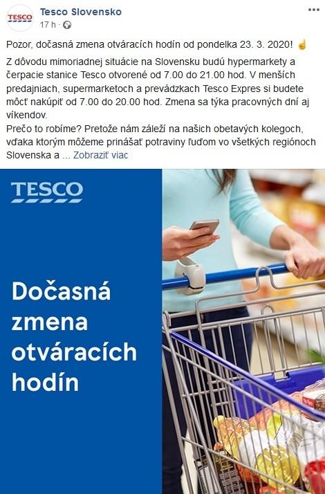 Tesco Slovensko