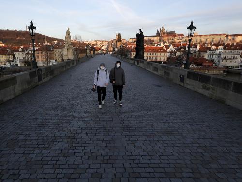 Prázdne ulice Prahy