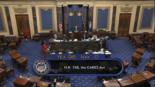 Senát jednohlasne odsúhlasil finančnú