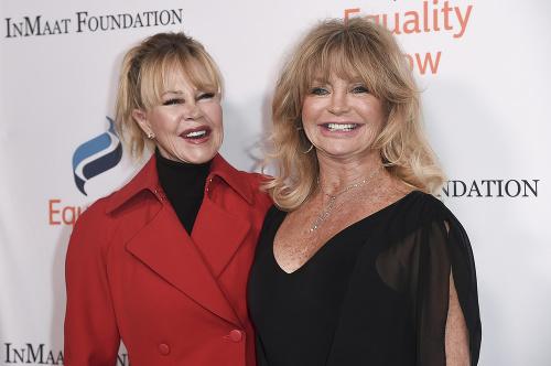 Goldie Hawn a Melanie