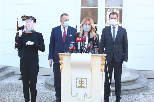 Veľké stretnutie u prezidentky: