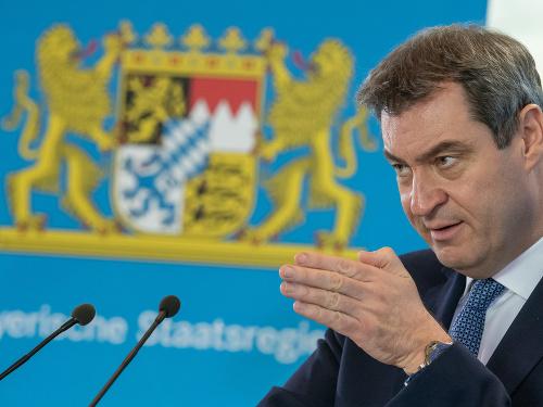 Bavorský premiér Markus Söder