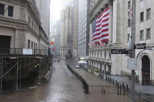 Prázdne ulice amerického New