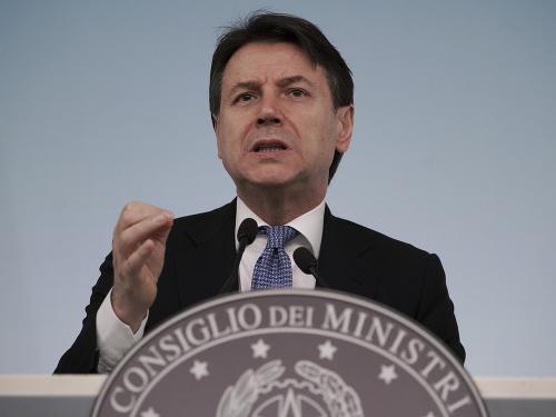 Taliansky premiér Giuseppe Conte