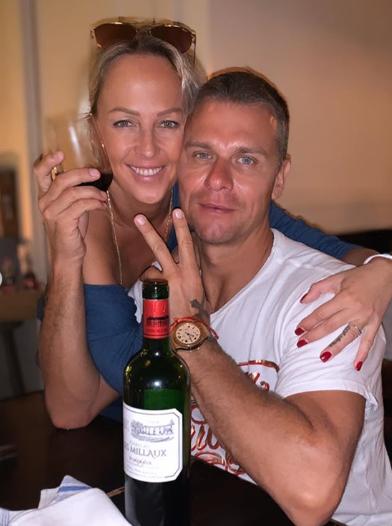 Zuzana Belohorcová s manželom