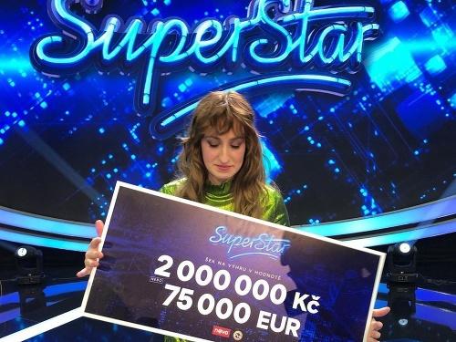 Barbora Piešová vyhrala Superstar