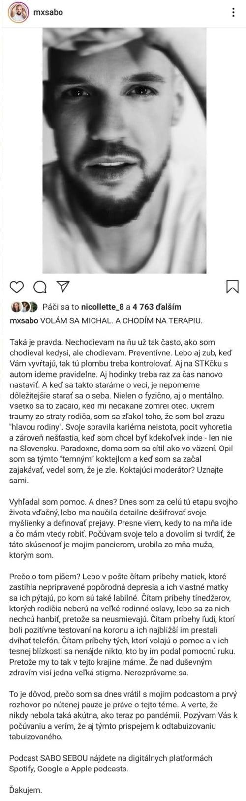 Známy slovenský moderátor priznal