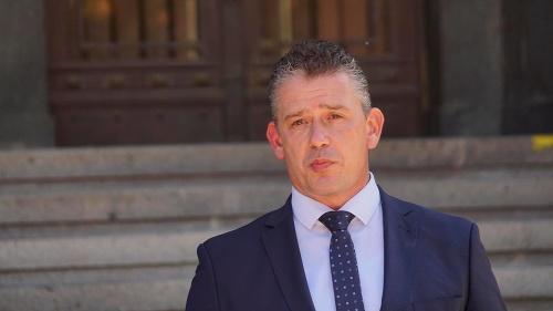 Minister vnútra Roman Mikulec