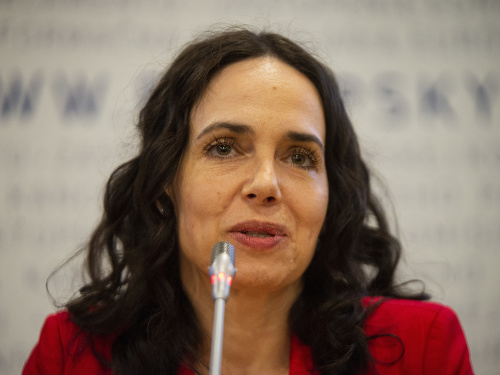 Slovenská europoslankyňa Miriam Lexmann
