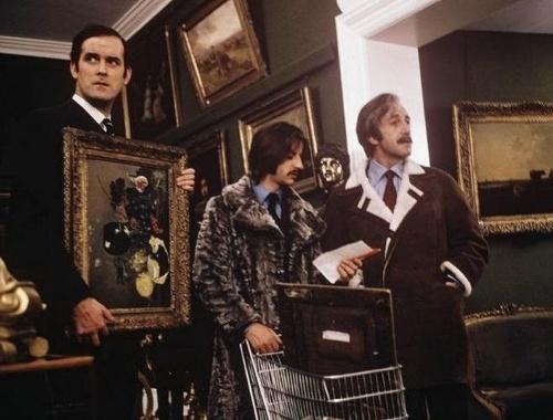 John Cleese, Ringo Starr