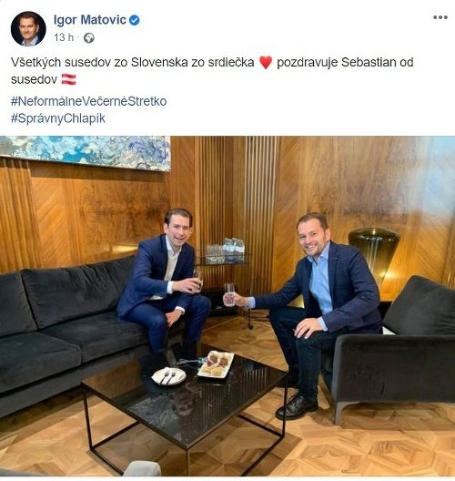 Sebastian Kurz a Igor