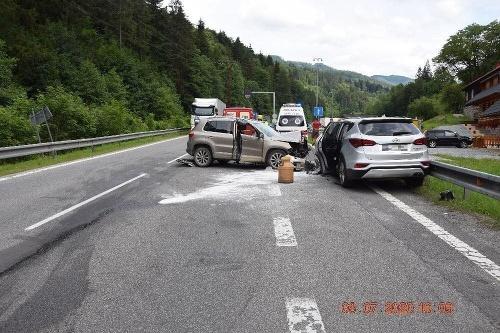 Pri nehode pod Donovalmi