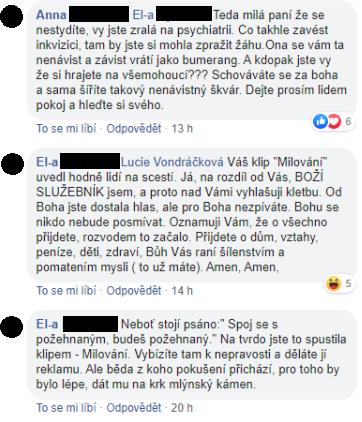 Luciu Vondráčkovú si podala