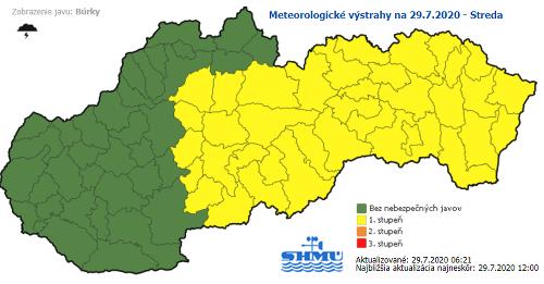 Slovensko po ťažkej noci