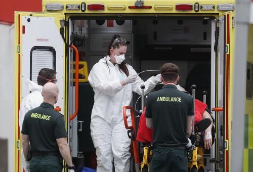 Koronavírus v Británii
