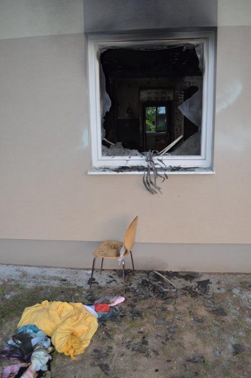 Požiar v domove dôchodcov