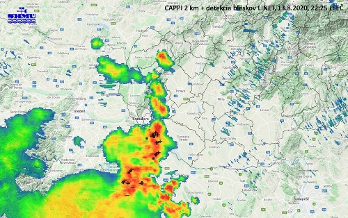 Čakajú nás silné búrky!