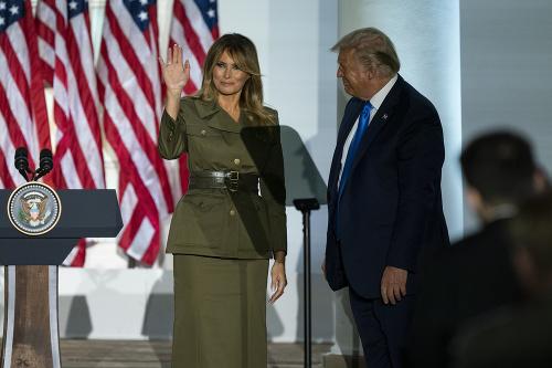 Prvá dáma Melania Trumpová