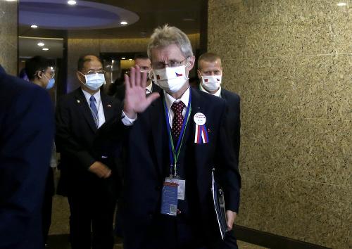 Predseda hornej komory českého