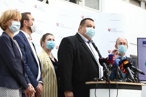 Zasadnutie Pandemickej komisie vlády