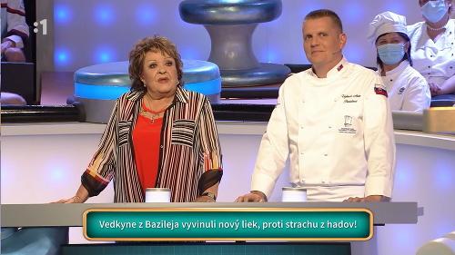 Jiřina Bohdalová a šéfkuchár