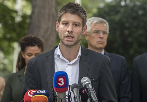 Europoslanec Michal Šimečka