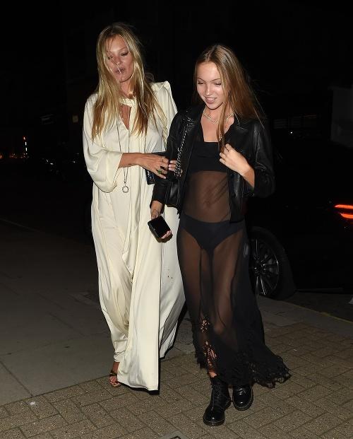 Kate Moss s dcérou