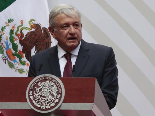 Mexický prezident Andrés Manuel