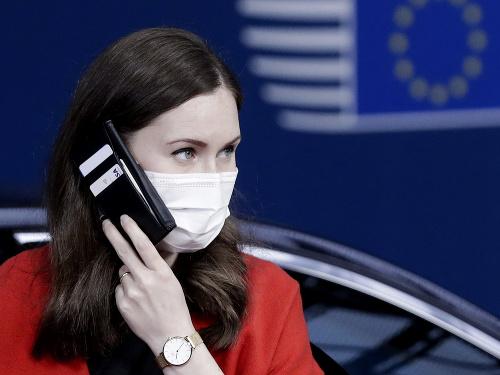 Fínska premiérka Sanna Marinová