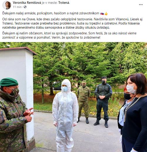 Na Slovensku prebehlo plošné