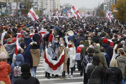 V Bielorusku protestovalo proti