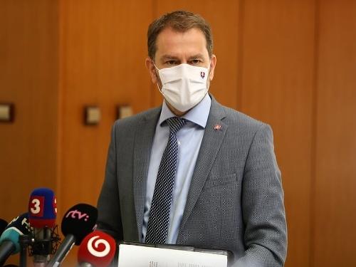 Predseda vlády Igor Matovič