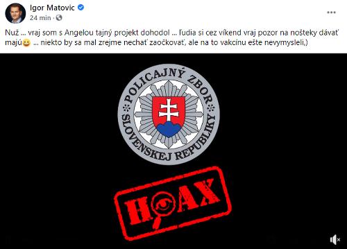 Slováci, pozor! Internetom koluje