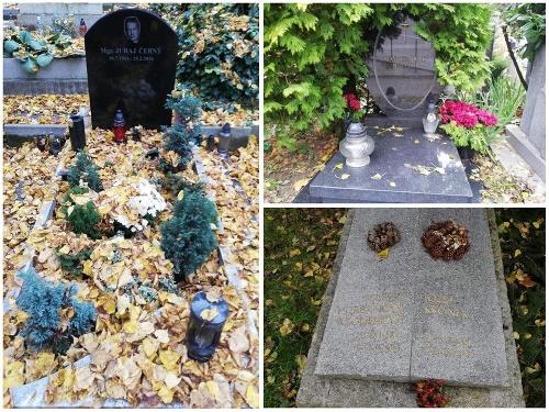 Hroby slávnych Slovákov boli
