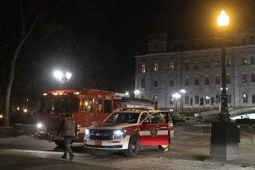Útok v kanadskom Québecu