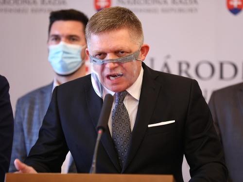 Predseda strany Smer-SD Robert