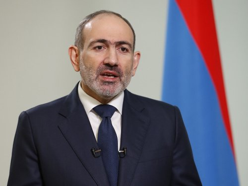Arménsky premiér Nikol Pašinja