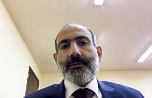 Arménsky premiér Nikol Pašinjan