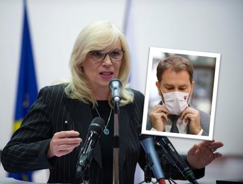 Iveta Radičová poučovala premiéra