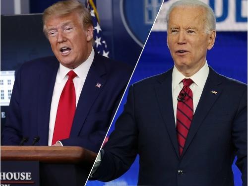 Donald Trump a Joe