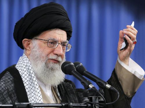 Iránsky najvyšší vodca ajatolláh