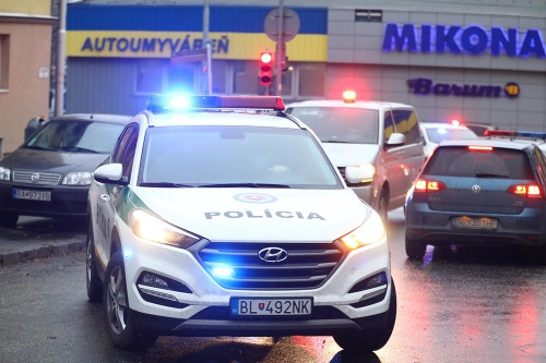 Monika Jankovská na policajnom