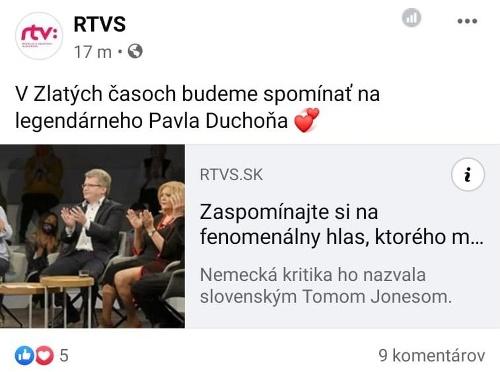 MEGA TRAPAS v RTVS: