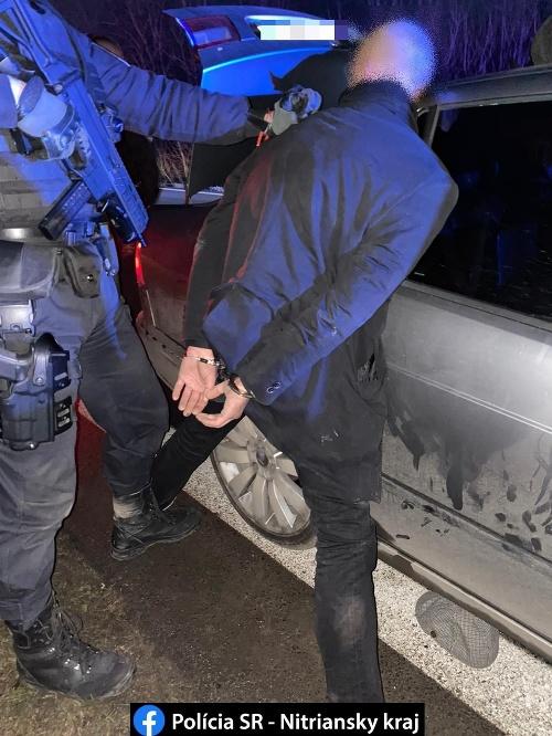 Policajný zásah pri Nitre