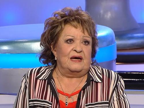 Jiřina Bohdalová sa hnevá