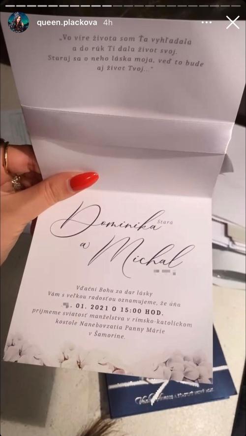 Detaily svadby Dominiky Starej:
